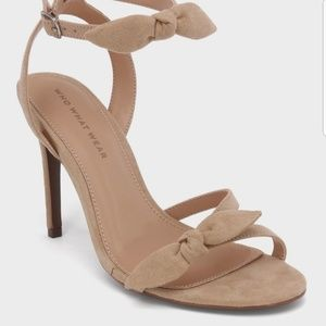 Who What Wear  Ankle Strap Sandals
